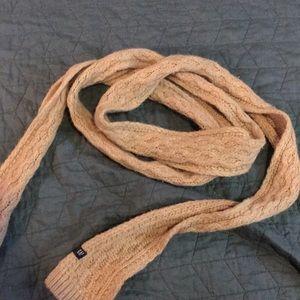 Tan knit scarf GAP